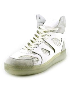 Men's Mcq Move Mid White Sneaker 11m