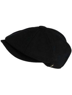 Epoch Hats Company Melton Wool 8 Quarter Newsboy Cap (Men's)