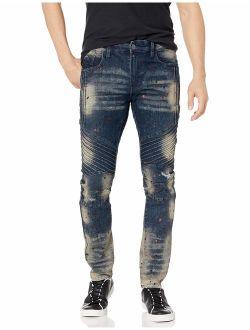 Men's 9180 Signiture Skinny Fit Fashion Denim Pants