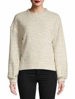 Women's Long Sleeve Drop Shoulder T-Shirt