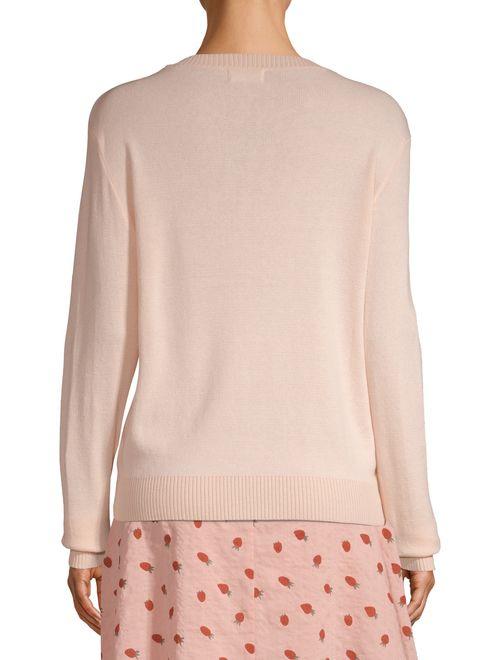 Love Sadie Women's Embroidered Sweater