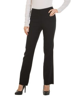 Red Hanger Bootcut Dress Pants for Women -Stretch Comfy Work Pull on Womens Pant