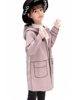 Miss Bei Kids Girls Spring Winter Warm Fur Cartoon Coats Dress Hooded Snowsuit Outerwear Jackets ...