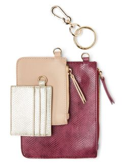Metallic Sky Jubilee Wristlets & Card Holder, 3-Piece Gift Set Gifts for Women and Girls