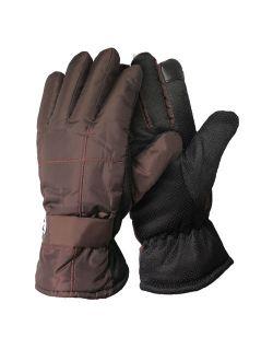Men's Winter WindProof Fleeced Lined Outdoor Snow Ski Gloves