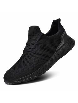 RELANCE Men Running Shoes, Lightweight Athletic Shoes for Workout Training Tennis Jogging Sport Shoes Footwear