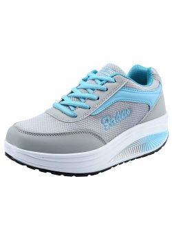 Dunacifa Women's Lightweight Running Athletic Shoes Casual Soft Bottom Walking Sneakers Workout Gym Shoes