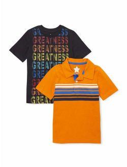 Boys 4-10 Mix & Match Greatness T-shirt 2-piece Multipack