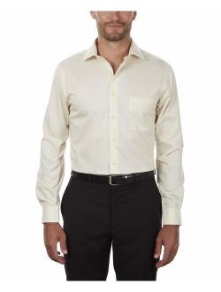Flex Regular Fit Solid Long Sleeve Dress Shirt