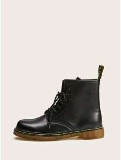 Men Lace-up Martin Boots