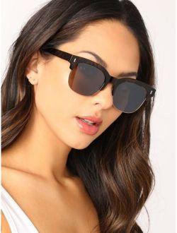 Acrylic Tortoise Clubmaster Wayfarer Sunglasses