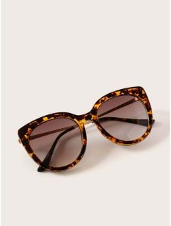 Tortoiseshell Pattern Sunglasses