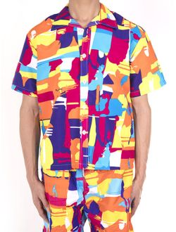 2 Piece Mens Swim Shorts + Shirt Beach Trunks Surf Quick Dry Boardshorts Swimwear