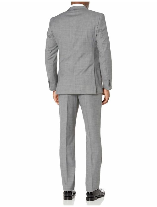 Original Penguin Men's Slim Fit, 2pc Suit with Finished Bottom Hem