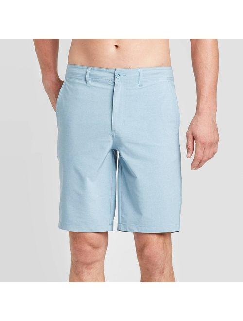 "Men's 10.5"" Rotary Hybrid Shorts - Goodfellow & Co Blue Dusk"