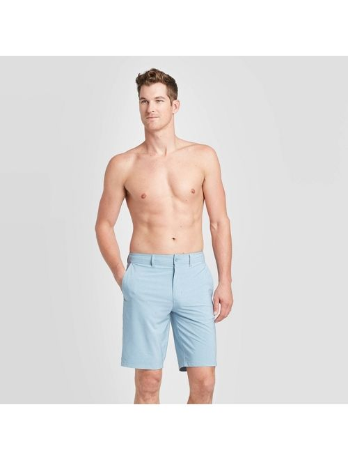 "Men's 10.5"" Rotary Hybrid Shorts - Goodfellow & Co Blue Dusk"