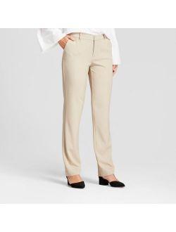 Women's Straight Leg Bi-Stretch Twill Pants - A New Day™
