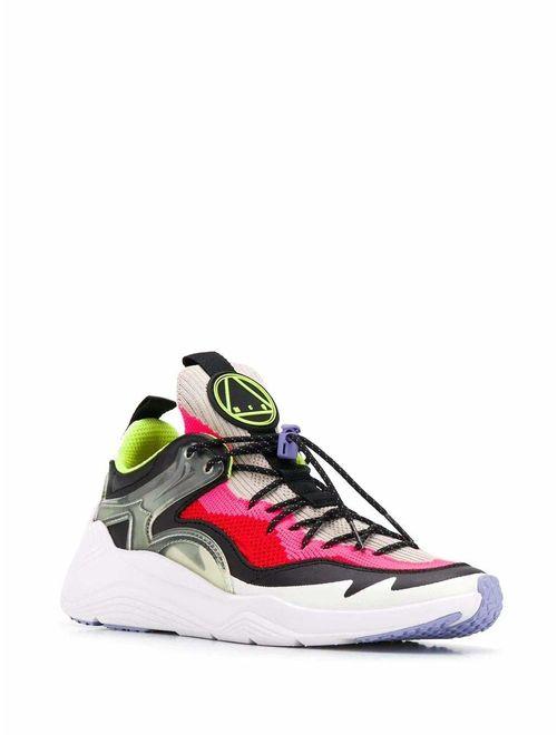 Alexander McQueen Luxury Fashion Womens 568412R26049009 Multicolor Sneakers | Fall Winter 19