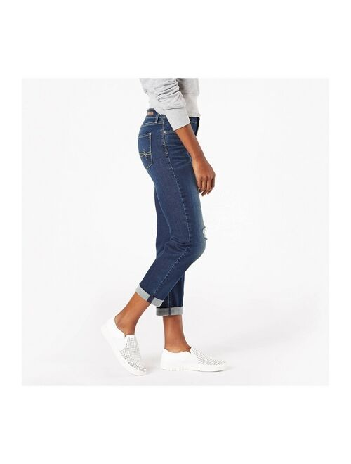 DENIZEN from Levi's Women's Modern Mid-Rise Slim Boyfriend Jeans - Summer Fling