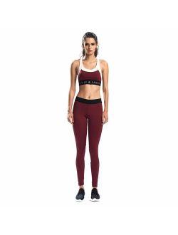 Women 2 Piece Outfits Sports Bra Yoga Leggings Gym Workout Clothes Set