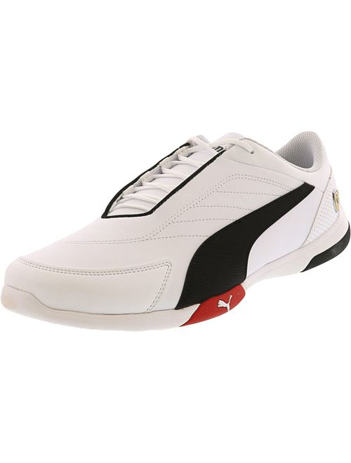 Puma Men's Sf Kart Cat Iii White / Black Rosso Corsa Ankle-High Running - 9.5M