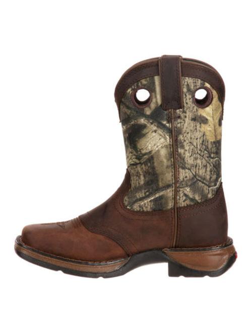 """Children's Durango Boot DBT0121 Lil' Rebel 8"""" Saddle"""