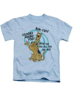 Scooby Doo - Quoted - Juvenile Short Sleeve Shirt - 4