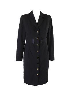 Black Notch Collar Coat 10