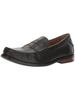 Men's Pinch Friday Contemporary Loafer, Black Handstain, 9 M Us