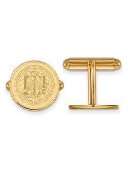 14k Yellow Gold University of California Berkeley Crest Cuff Link