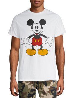 Disney Original Mickey Mouse Minimal Graphic T-shirt