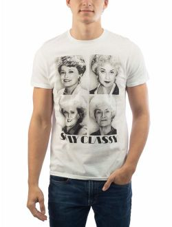 Men's and Big Men's The Golden Girls Stay Classy Graphic T-shirt
