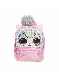 "LIMITED L.O.L Surprise! X-Small School Backpack 10"" Girls Bag Pink LOL Bag-"