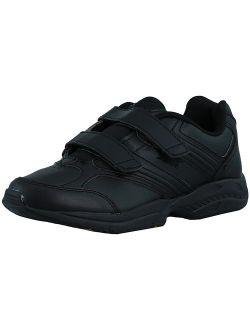 Women's Union Slip Resistant Black / Chrome Silver Lemon Yellow Ankle-high Leather Walking Shoe - 7.5m