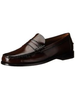 Mens Berkley Leather Closed Toe Penny Loafer