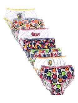 Ugly Dolls, Girls Underwear, 7 Pack Panties (Little Girls & Big Girls)