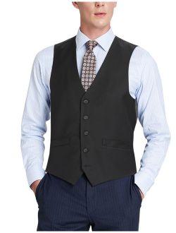 Men's Business Suit Vest Regular Fit Dress Vest Wedding Waistcoat