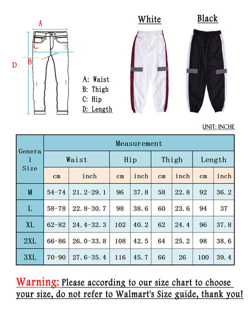 LELINTA Men's Outdoor Pants Hip Hop Trousers with Elastic Lightweight Hiking Fishing Zip Off Cargo Work Sweat Pants White Black