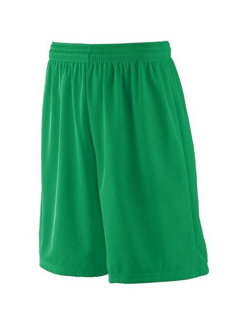 Augusta Sportswear 849 Athletic Wear Shorts Boys Long Tricot Mesh Short