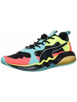 Men's Lqdcell Tension Sneaker, Blue Turquoise-nrgy Redyellow Alert, 10.5 M Us
