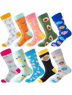 Cks For Men & Women,colorful Funny Crazy Novelty Fun Dress Socks Pack, Bonangel Cool Pattern Crew Socks Gift For Men