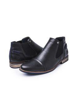Men's Modern Oxford Wingtip Lace Dress Shoes