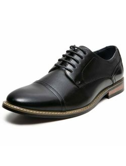 ZRIANG Men's Classic Cap Toe Lace-up Oxford Dress Shoes