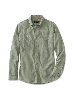 Orvis Tech Chambray Work Shirt/Only Regular