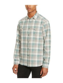 Men's Long Sleeve Two Pocket Flannel Shirt