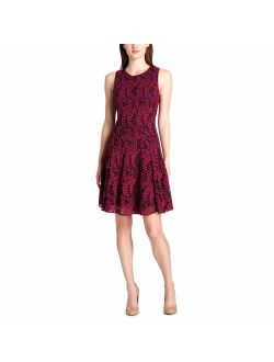 Womens Woodstock Floral Lace Party Dress