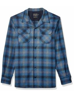 Pendleton Men's Tall Size Big and Tall Long Sleeve Board Shirt