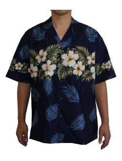 Hawaiian Men's Hibiscus Season Aloha Shirt