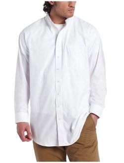 Men's Big And Tall Long Sleeve Epic Easy Care Nailshead Shirt