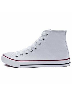ZGR Mens Canvas Sneakers High Top Casual Shoes